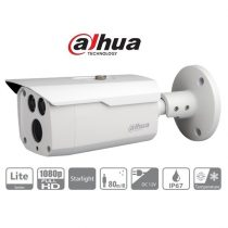 Dahua HAC-HFW1230D Bullet kamera, kültéri, 2MP, 3,6mm, IR80m, ICR, IP67, DWDR, AHD/CVI/TVI/CVBS, STARLIGHT
