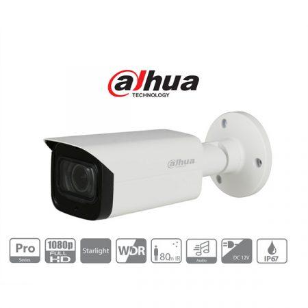 Dahua 4in1 Analóg csőkamera - HAC-HFW2241T-Z-A (2MP, 2,7-13,5mm, kültéri, IR80m, IP67, ICR, WDR, audio, StarLight)