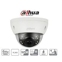 Dahua IP dómkamera - IPC-HDBW4631E-ASE (6MP, 2,8mm, kültéri, H265+, IP67, IR30m, ICR, WDR, SD, PoE, I/O, audio, IK10)