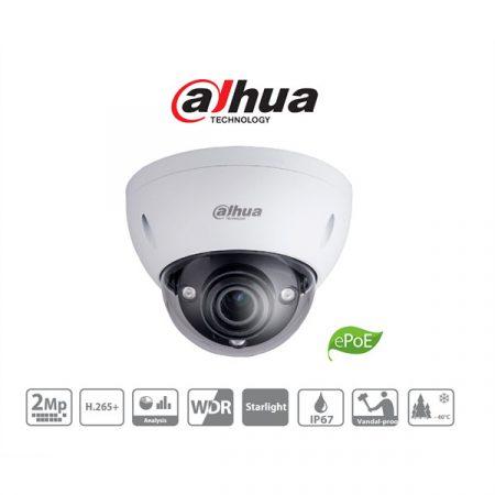 Dahua IP dómkamera - IPC-HDBW8231E-ZEH (2MP, 2,7-12mm, kültéri, H265, IP67, IR50, WDR, IK10, PoE+, audio, I/O, IVS)