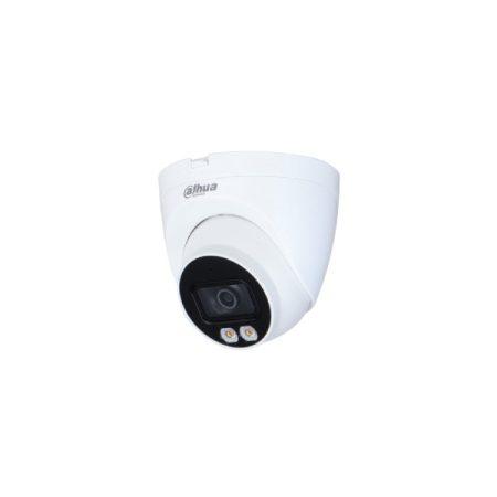 Dahua IP turretkamera - IPC-HDW2439T-AS-LED (4MP, 2,8mm, kültéri, H265+, IP67, LED30m, WDR, SD, PoE, audio, mikrofon)