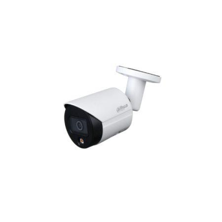 Dahua IP csőkamera - IPC-HFW2439S-SA-LED (4MP, 2,8mm, H265+, IP67, LED30m, ICR, WDR, SD, PoE, mikrofon, FullColor)