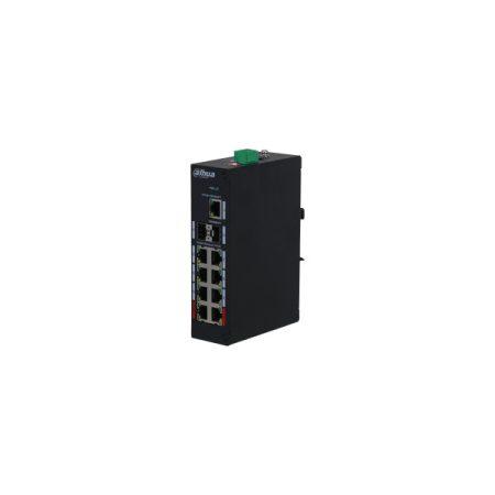 Dahua PoE switch - PFS3211-8GT-120 (8x 100Mbps at/af PoE + 1x 1Gbps + 2x SFP, 120W)
