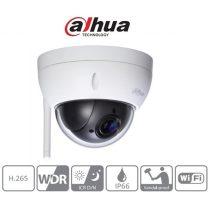 Dahua IP PTZ dome kamera SD22404T-GN-W (4MP, 2,7-11mm, kültéri, H265+, IP66, ICR, WDR, SD, IK10, wifi)