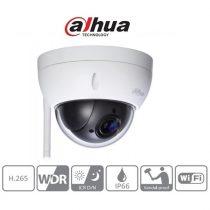 Dahua IP PTZ dómkamera - SD22404T-GN-W (4MP, 2,7-11mm, kültéri, H265+, IP66, ICR, WDR, SD, IK10, wifi)