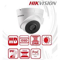 Hikvision DS-2CC52D9T-IT3E Turret HD-TVI kamera, kültéri, 2MP, 6mm, EXIR40M, ICR, IP67, WDR, 12VDC/PoC