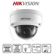 Hikvision DS-2CD1143G0-I IP Dome kamera, 4MP, 2,8mm, H265+, IP67, IR30m, ICR, DWDR, 3DNR, PoE, műanyag
