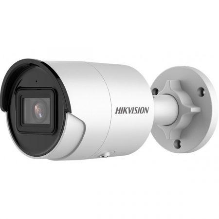 Hikvision IP csőkamera - DS-2CD2046G2-IU (4MP, 2,8mm, kültéri, H265+, IP67, IR40m, ICR, WDR, 3DNR, PoE)