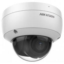 Hikvision IP dómkamera - DS-2CD2123G2-IU (2MP, 2,8mm, kültéri, H265+, IP67, IR30m, ICR, WDR, 3DNR, SD, PoE, IK10)