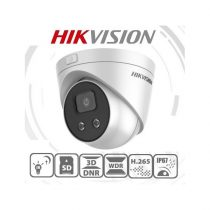 Hikvision DS-2CD2326G2-I IP Turret kamera, kültéri, 2MP, 2,8mm, H265+, IP67, EXIR50m, ICR, WDR, 3DNR, PoE, SD, Darkfight