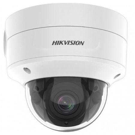 Hikvision IP dómkamera - DS-2CD2746G2-IZS (4MP, 2,8-12mm, kültéri, H265+, IP67, IR40m, ICR, WDR, SD, PoE, IK10, I/O)