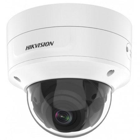 Hikvision IP dómkamera - DS-2CD2786G2-IZS (8MP, 2,8-12mm, kültéri, H265+, IP67, IR40m, ICR, WDR, 3DNR, PoE,SD,IK10, I/O)