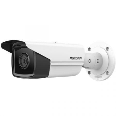 Hikvision IP csőkamera - DS-2CD2T43G2-4I (4MP, 4mm, kültéri, H265+, IP67, IR50m, ICR, WDR, SD, PoE)
