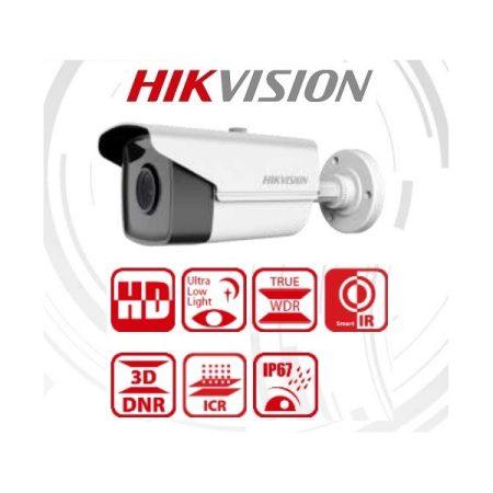 Hikvision 4in1 Analóg csőkamera - DS-2CE16D8T-IT3F (2MP, 3,6mm, kültéri, EXIR60m, IP67, WDR)