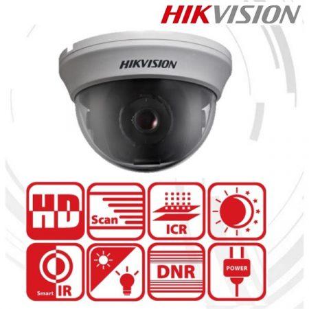 Hikvision 4in1 Analóg dómkamera - DS-2CE56D0T-IRMMF (2MP, 2,8mm, beltéri, IR20m, D&N(ICR), DNR, műanyag)