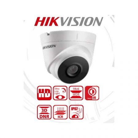 Hikvision 4in1 Analóg turretkamera - DS-2CE56D8T-IT3F (2MP, 2,8mm, kültéri, EXIR40m, IP67, WDR)