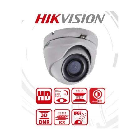 Hikvision 4in1 Analóg turretkamera - DS-2CE56D8T-ITMF (2MP, 2,8mm, kültéri, EXIR30m, IP67, WDR, Starlight)