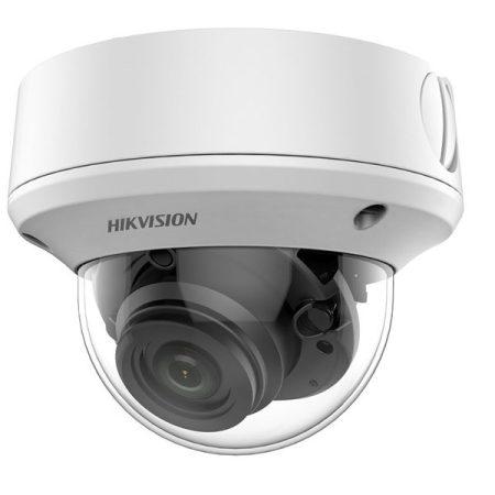 Hikvision 4in1 Analóg dómkamera - DS-2CE5AU7T-AVPIT3ZF (8MP, 2,7-13,5mm, kültéri, EXIR60m, IP67, IK10, WDR, 3DDNR)
