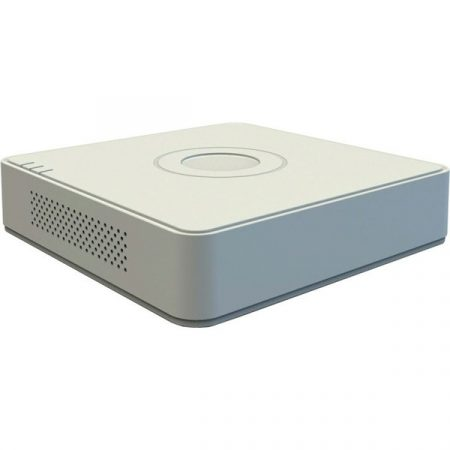 Hikvision DVR rögzítő - DS-7104HUHI-K1 (4 port, 8MP, 5MP/12fps, 4MP/15fps, H265+, 1x Sata, Audio)