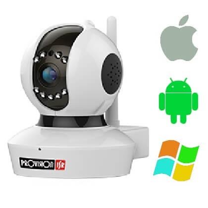 PROVISION PT737E beltéri WiFi IP kamera