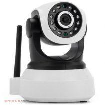 P2P beltéri mozgatható WiFi IP kamera