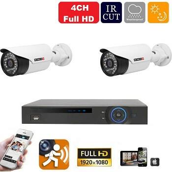 CVI36 - 2 kamerás éjjellátó Full HD kamerarendszer