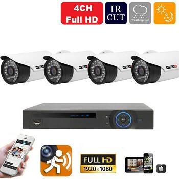 CVI36 - 4 kamerás éjjellátó Full HD kamerarendszer