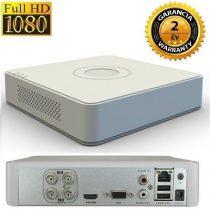 Hikvision TurboHD 4 csatornás rögzítő 720P 1080Plite