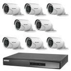 Hikvision TurboHD-TVI 8 kamerás kamerarendszer