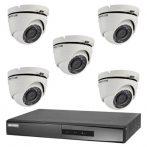 Hikvision TurboHD-TVI 5 dome kamerás kamerarendszer