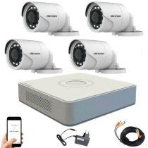 Hikvision TurboHD Überwachungssystem mit 4 Kamera