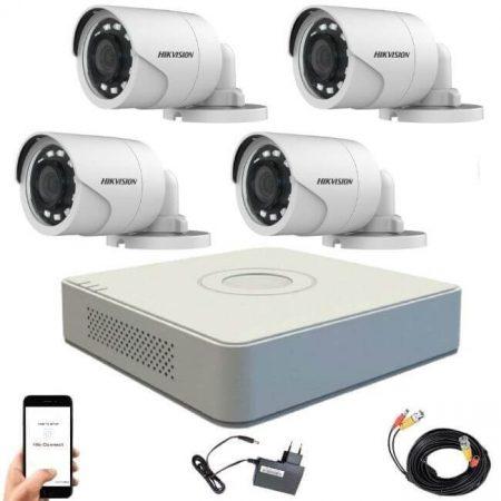 Hikvision TurboHD-TVI 4 kamerás kamerarendszer