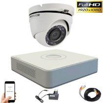 Hikvision TurboHD Kamerasystem mit 1 Dome Kamera