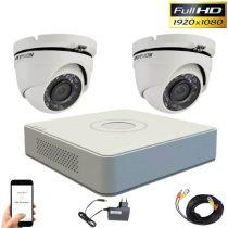 Hikvision TurboHD TVI Zwei-Kamera-Dome-Kamera-System