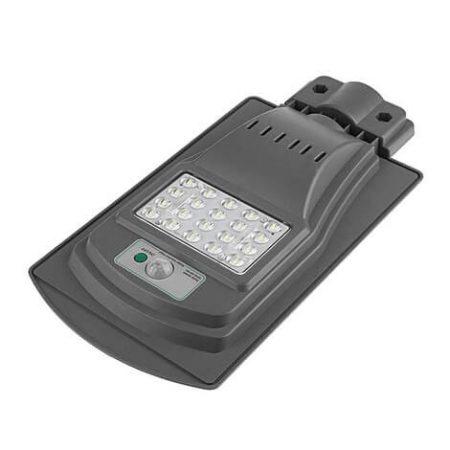 Napelemes mozgásérzékelős utcai LED lámpa 30W