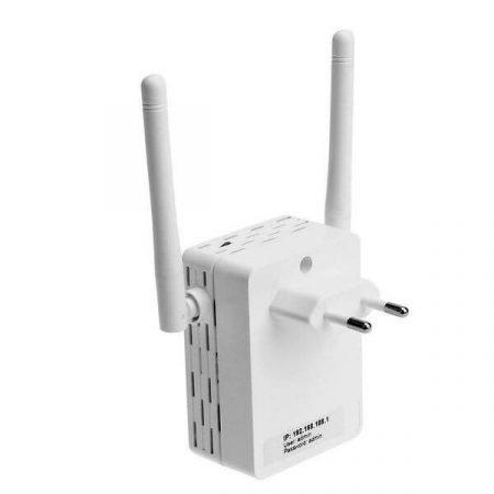 Dupla antennás Wifi Repeater erősítő