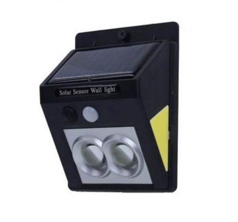 Dupla projektoros napelemes mozgásérzékelő lámpa