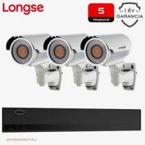 3 kamerás 5MP kamerarendszer