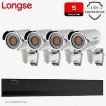 4 kamerás 5MP kamerarendszer