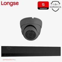 1 dome kamerás 5 MP kamerarendszer