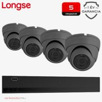 4 dome kamerás 5MP kamerarendszer
