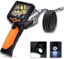 Endoszkóp kamera kijelzővel SD kártya rögzítés NTS200