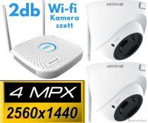Amiko Home Wifi 2 kamera rendszer 4 MP felbontás