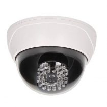 ORNO dome fényérzékelős álkamera világító infraLED