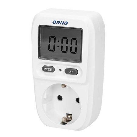 ORNO Digitális hálózati fogyasztás mérő konnektor OR-WAT-419(GS)
