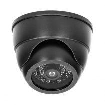 ORNO biztonsági dome álkamera villogó LED