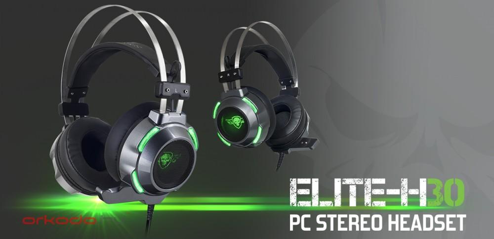 Spirit of Gamer Fejhallgató - ELITE-H30