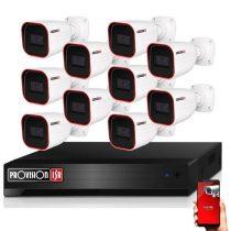 Provision AHD-23 10 kamerás megfigyelő kamerarendszer 2MP FULL HD