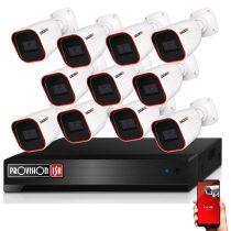 Provision AHD-23 11 kamerás megfigyelő kamerarendszer 2MP FULL HD