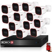 Provision AHD-23 13 kamerás megfigyelő kamerarendszer 2MP FULL HD